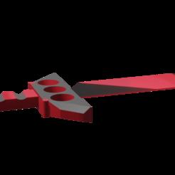 Descargar diseños 3D Cuchillo puño americano/ Cuchillo Puño Americano, Rauul19