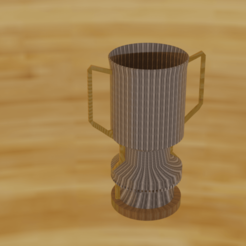 doppad.png Download STL file Trophy Cup • Template to 3D print, Rauul19