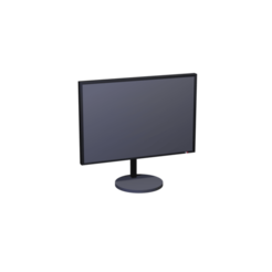 MONITOR.png Download STL file Office Monitor | Office Monitor • 3D printer object, Rauul19