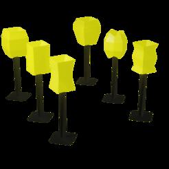 lamp.png Download STL file Pack 6 Low Poly Lamp / Pack de 6 lamparas low poly • 3D printable template, Rauul19