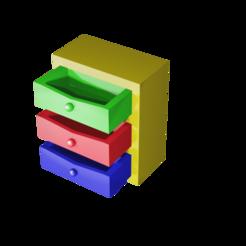 cajonera.png Télécharger fichier STL TWO DESIGNS : commode | Commode • Design pour imprimante 3D, Rauul19