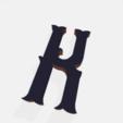 Télécharger fichier STL gratuit Lettres (tout l'alphabet) • Design pour impression 3D, Hobocop