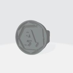 Télécharger modèle 3D gratuit Bague de signature (toutes les lettres), Hobocop