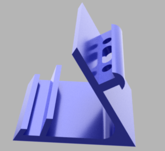 Phone_stand.png Download free OBJ file Phone Stand • Model to 3D print, antokribs2