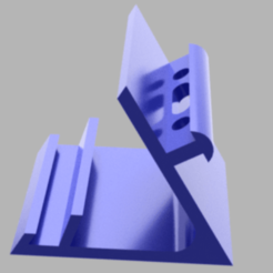 Download free 3D printing models Phone Stand, antokribs2