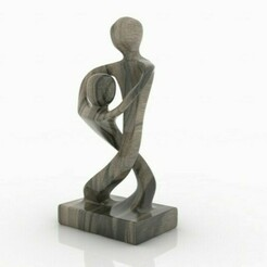 escultura.jpg Download STL file Sculpture art tango dance • Template to 3D print, ezequiel-prostamo