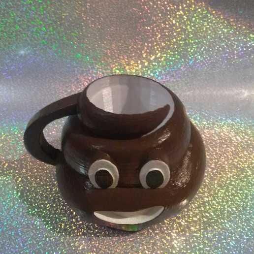 Download free 3D printing models POOP CUP, christopher_fernando776