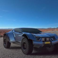 rendernuke.jpeg Download OBJ file Zarooq Sand Racer 500 GT • 3D printer template, nachete55