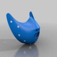 Descargar modelos 3D gratis Gorra de la máscara COVID-19, edición Hannibal Lecter, Spazticus