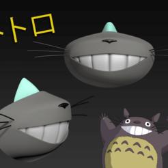 Descargar diseños 3D gratis Gorra de la máscara COVID-19, edición Totoro, Spazticus