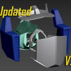 Descargar modelos 3D gratis Gorra de la máscara COVID-19, Optimus Prime Edition, Spazticus