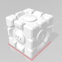 Descargar archivos STL gratis Dados de cubo de portal, erwann-menguy