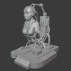 Descargar archivos STL gratis Cyborg, erwann-menguy
