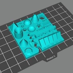 Descargar modelo 3D gratis Prueba de la impresora 3D, Doberman