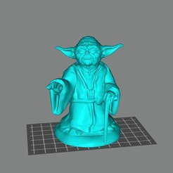 Download free STL file Master Yoda • Design to 3D print, Doberman