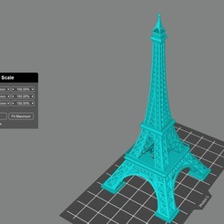 Download free 3D printer files Eiffel tower, Doberman