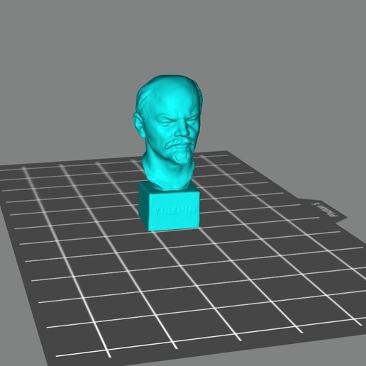 Download free 3D printer templates bust of lenin, Doberman