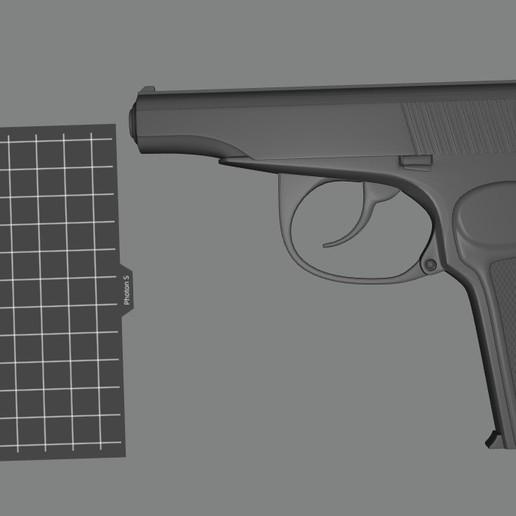 Download free STL file The Makarov pistol, Doberman