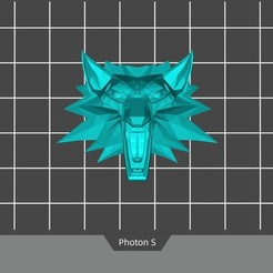 Download free 3D printing models The Witcher Medallion, Doberman
