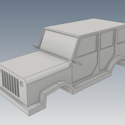 Download 3D printer files Car Jeep with tire, FranciscoB