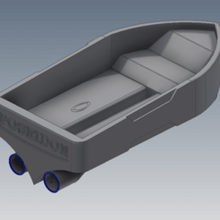 Download 3D printing files Boat, FranciscoB