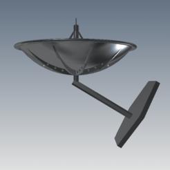 Download STL file Satellite dish, FranciscoB
