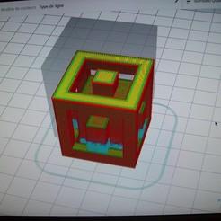 Télécharger fichier STL gratuit Cubes ! • Modèle à imprimer en 3D, TontonGilou
