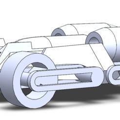 Download free 3D printer designs BATCAR, Guimauve24