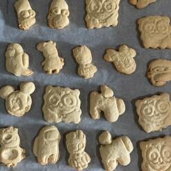 Galletas.jpg Télécharger fichier STL gratuit Moules à biscuits pour enfants • Modèle à imprimer en 3D, Lione666