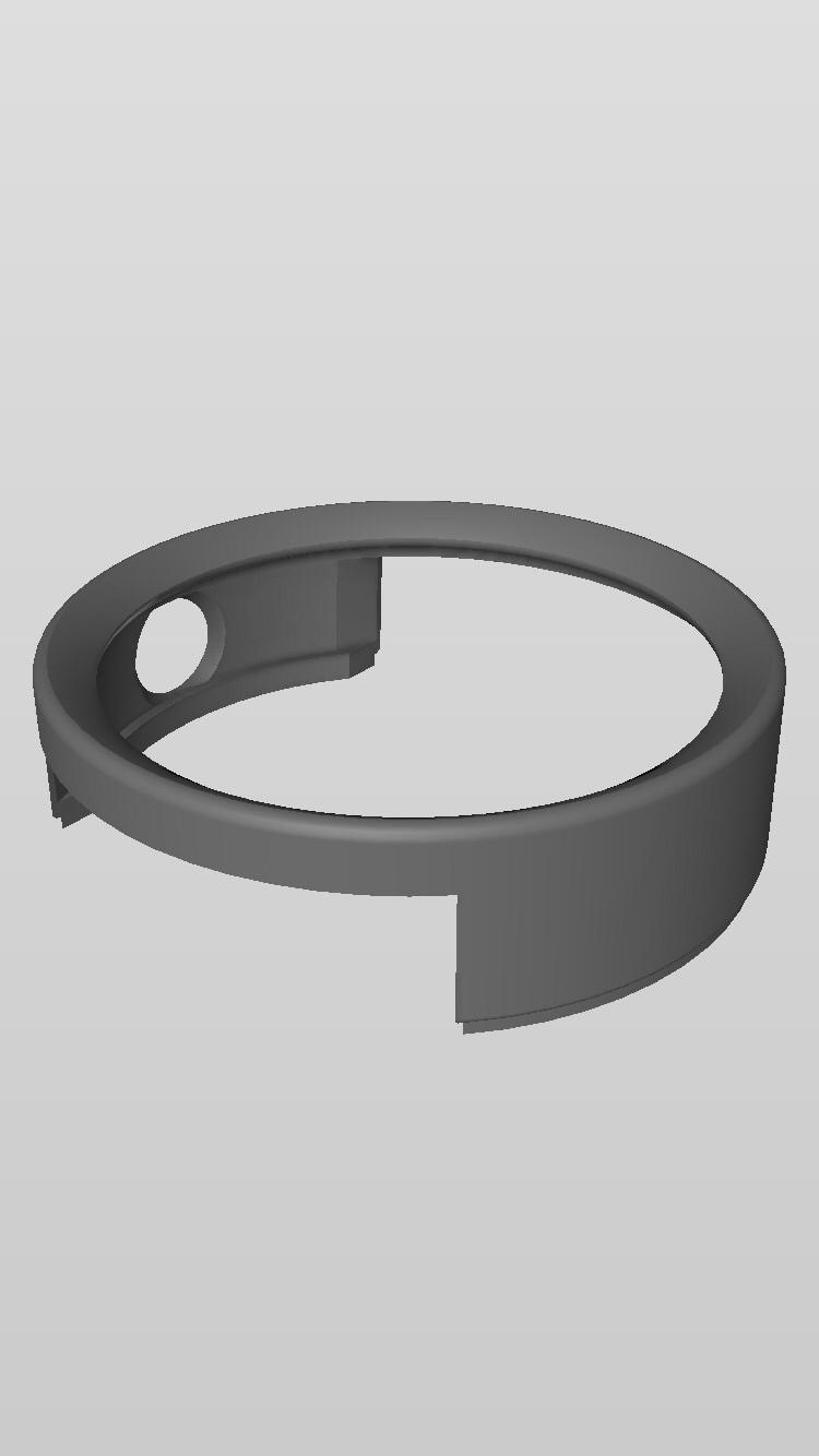 image.jpg Download free STL file LG G Watch R Case (Plain) • Model to 3D print, 31tmwhite86