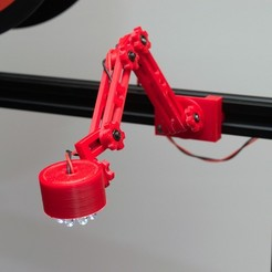 Imprimir en 3D gratis Luz de articulación del carril de la ranura, NHiggs