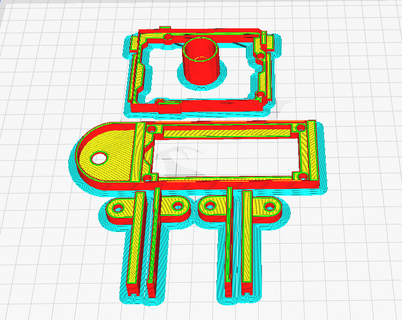 PrintLayout.png Download free STL file Arduino Uno Slider w/ 2x16 LCD • Design to 3D print, NHiggs