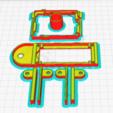 Download free 3D printing designs Arduino Uno Slider w/ 2x16 LCD, NHiggs