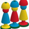 Download STL files Handling and Fine Motor Games (Kindergarten), J1b4y