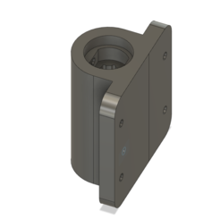 Download STL file 6mm linear bearing with holder • 3D print design, roboter2