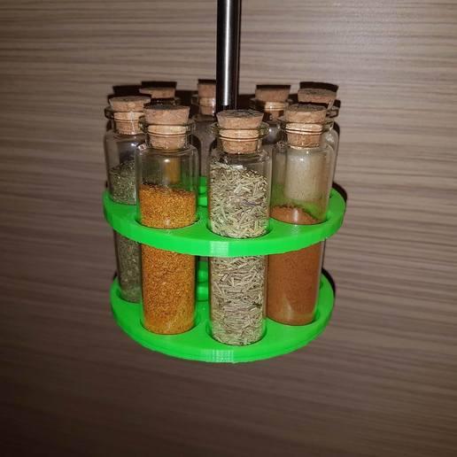 Download free 3D printing models Spice holder, roboter2