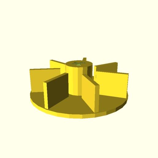 Télécharger fichier SCAD gratuit Ventilateur pour moteur • Design pour imprimante 3D, roboter2