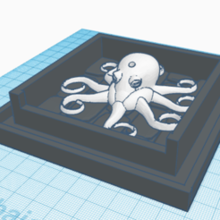 Download 3D printer templates Water source Octopus, eliaas319831