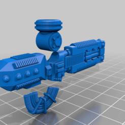 Volkite-Veuglaire-Exploded.png Télécharger fichier STL gratuit Volkite Veuglaire pour Armiger Moirax • Objet à imprimer en 3D, DimensionV
