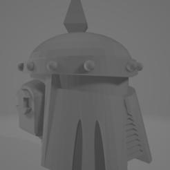 2020-09-23 09_21_56-mk3-helmet.stl - 3D Viewer.png Download free STL file Death Guard MK3 Helmet • 3D printer template, DimensionV