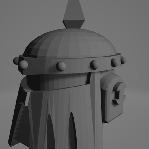 2020-09-23 09_22_16-mk3-helmet.stl - 3D Viewer.png Download free STL file Death Guard MK3 Helmet • 3D printer template, DimensionV