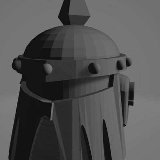 2020-09-23 09_22_27-mk3-helmet.stl - 3D Viewer.png Download free STL file Death Guard MK3 Helmet • 3D printer template, DimensionV
