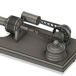 moteur sterling.JPG Télécharger fichier STL moteur sterling • Design pour impression 3D, montceau_les_mines