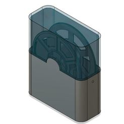 boite bobine.JPG Download free STL file filament bobbin case • Model to 3D print, montceau_les_mines