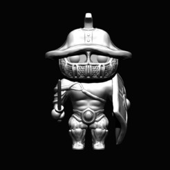Download free 3D printer files Gladiator minifigure - Communtiy Sunday, D3DCreative