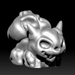 Descargar Modelos 3D para imprimir gratis Demonio Bulbasaur, D3DCreative
