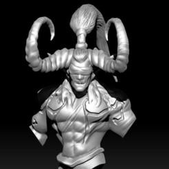 Descargar modelos 3D Busto de Demonios, D3DCreative