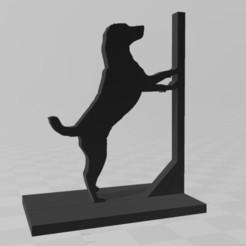 Descargar archivos STL gratis Porta-Libros de perros, D3DCreative