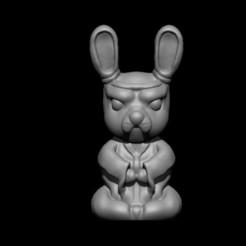 1.jpg Télécharger fichier OBJ Maître Lapin • Objet imprimable en 3D, D3DCreative