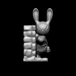 1.jpg Télécharger fichier OBJ Lapin Spiderman • Design à imprimer en 3D, D3DCreative